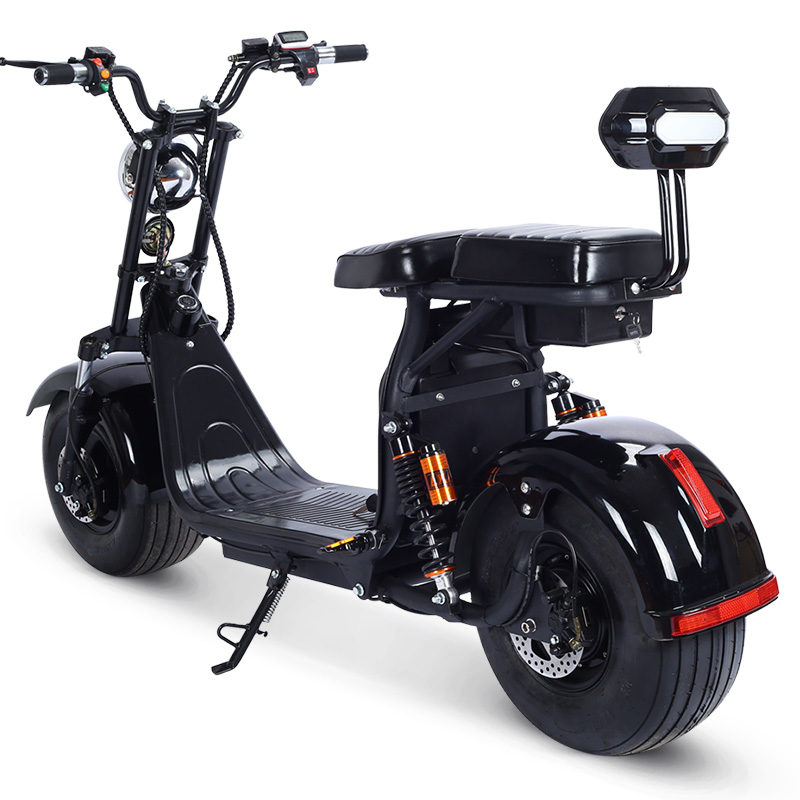 X7PLUS-2 Customized Design Two Batteries Electric Scooter 1000w Fat Tire Electric Scooter