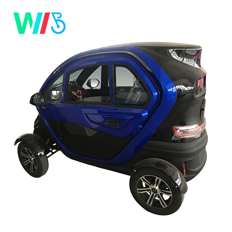 2020 Hot Sale Cheap High Quality 3 Seats Air Conditioner 4 Wheels Low Speed  Automatic Mini Electric Car