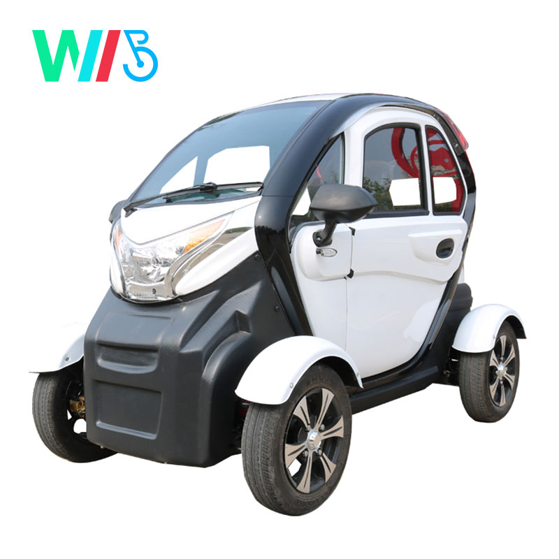 2020 Hot Sale Cheap High Quality EEC 3 Seats Air Conditioner 4 Wheels Low Speed  Automatic Mini Electric Car