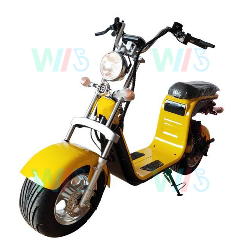 HR8-2 Wide Wheel Weped Scooter 1500W / 2000W Adult / Electric Kick Scooter Dual Motor with Cheap Price